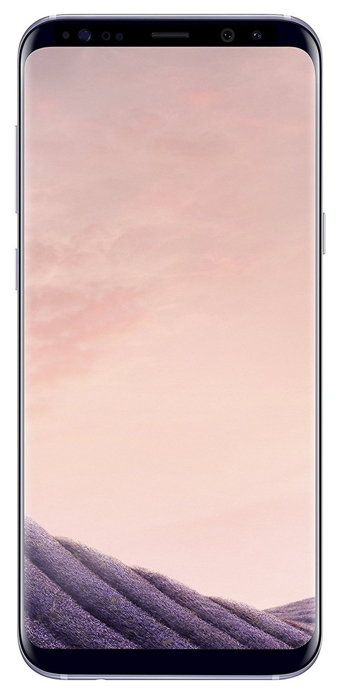 SIM Free Samsung Galaxy S8+ 64GB Mobile Phone - Orchid Grey