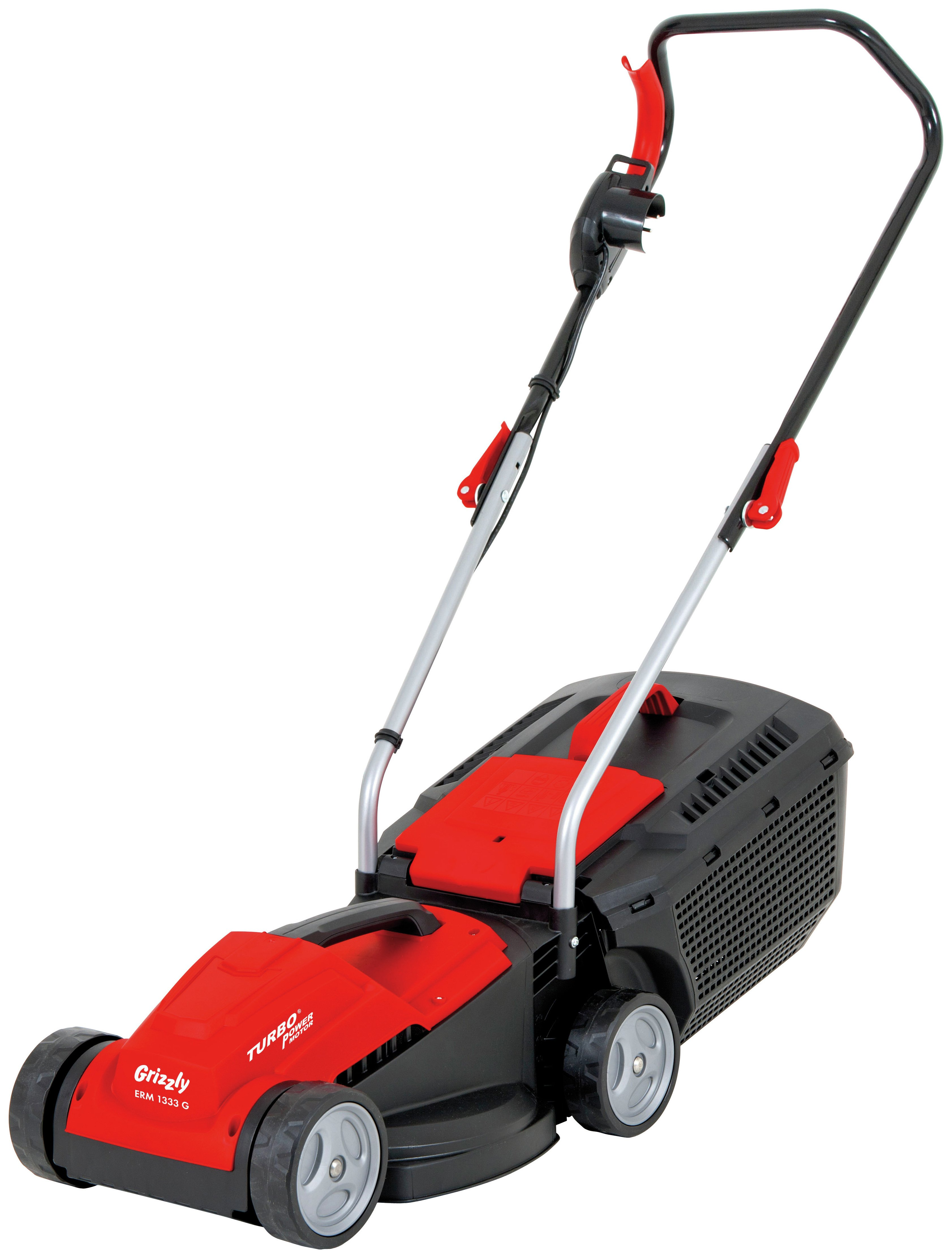 Image of Grizzly Tools 33cm Corded Rotary Lawnmower - 1300W