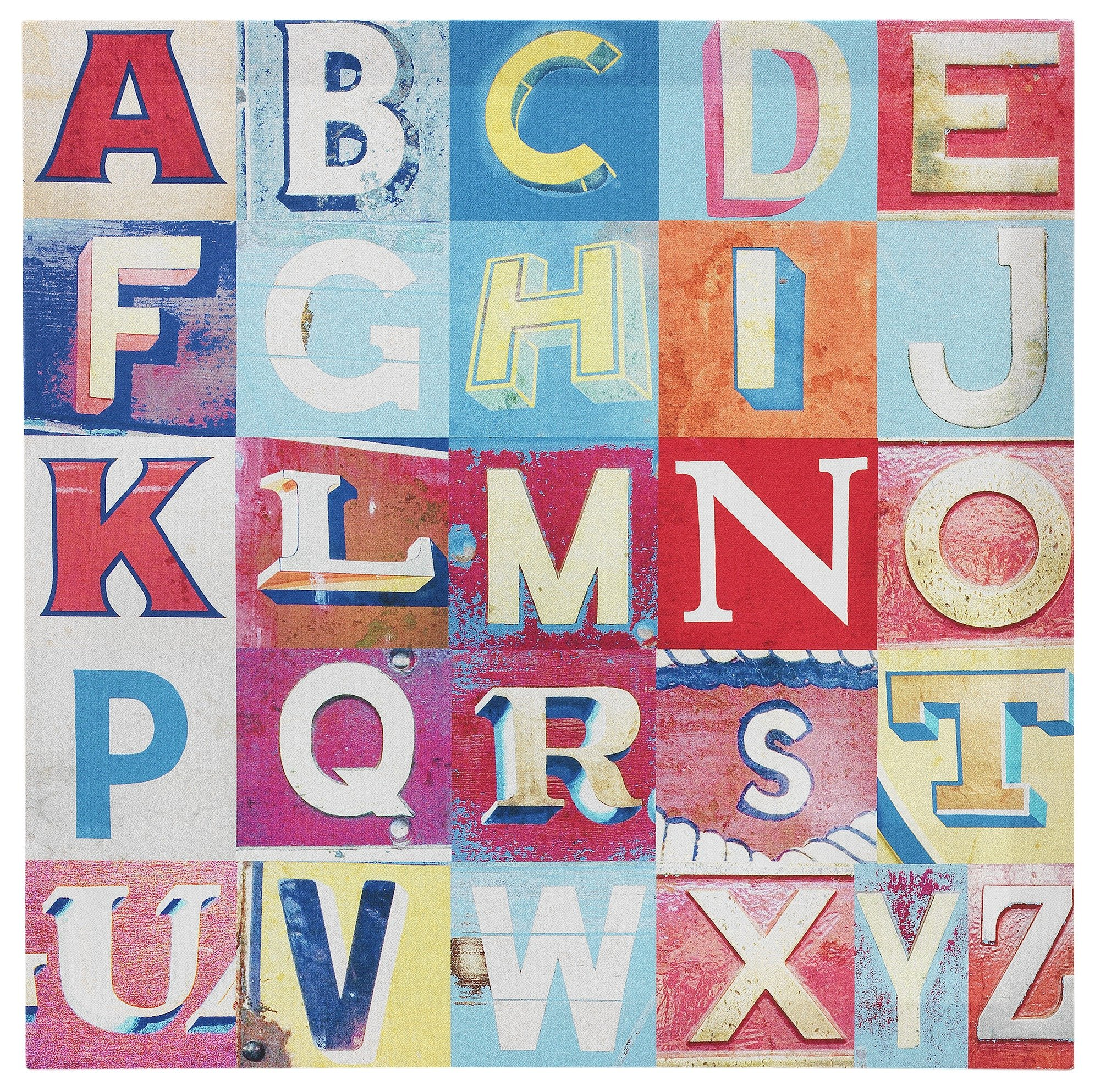 Image of Arthouse Alphabet Printed Canvas