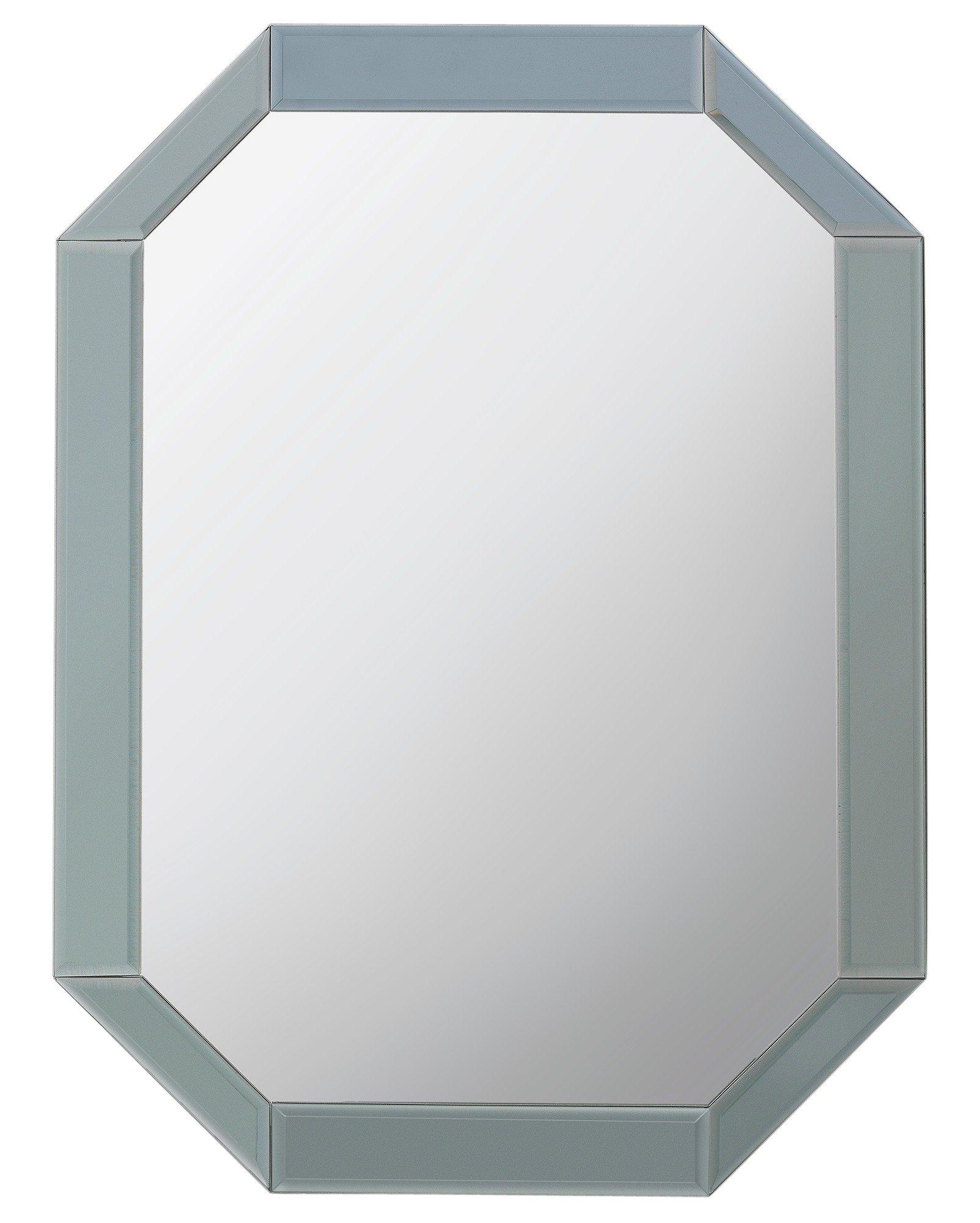 Argos Home Stonehaven Octagonal Bevelled Mirror - Grey
