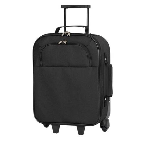 361916cc501bc Simple Value Small 2 Wheel Soft Suitcase - Black. by Simple Value by Argos.  687 6317. 1 5