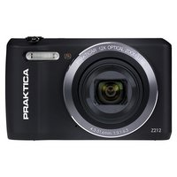 Praktica Z212 20MP 12X Zoom Compact Camera - Black