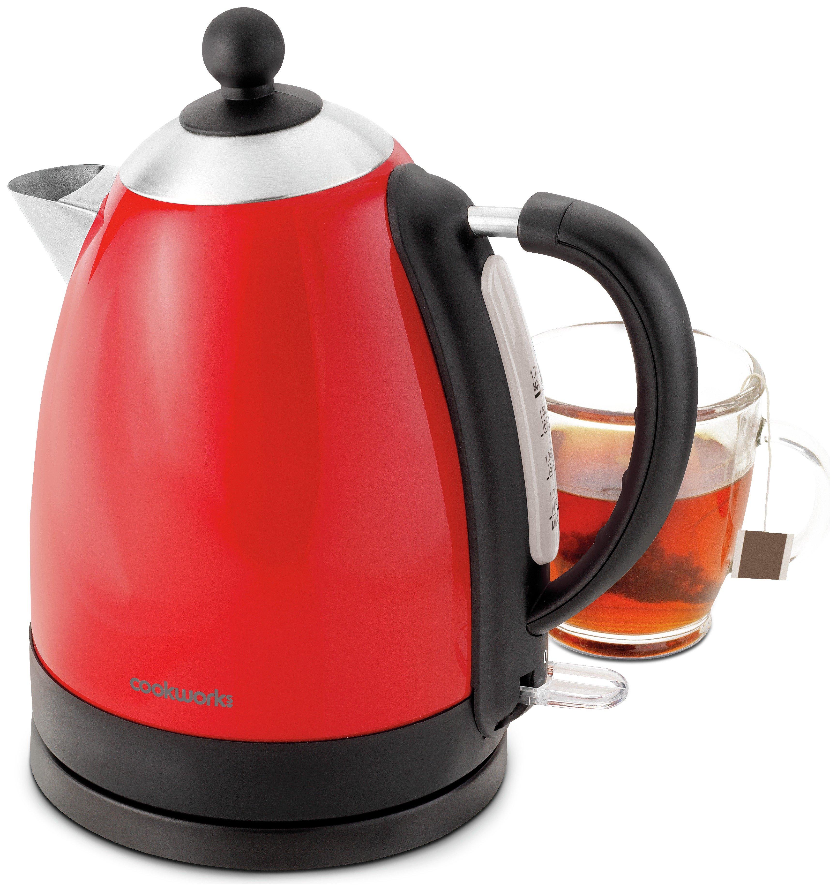 Image of Cookworks Jug Kettle - Red