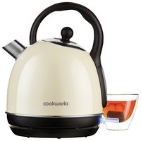 Cookworks Traditional Kettle - Cream