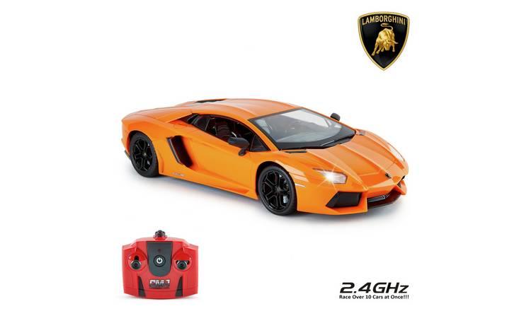 Buy Lamborghini Aventador 1 14 Remote Control Car Orange