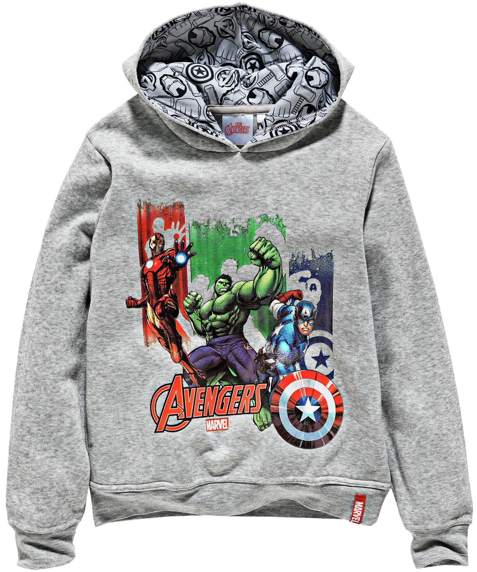 Image of Avengers Grey Hoodie - 5-6 Years