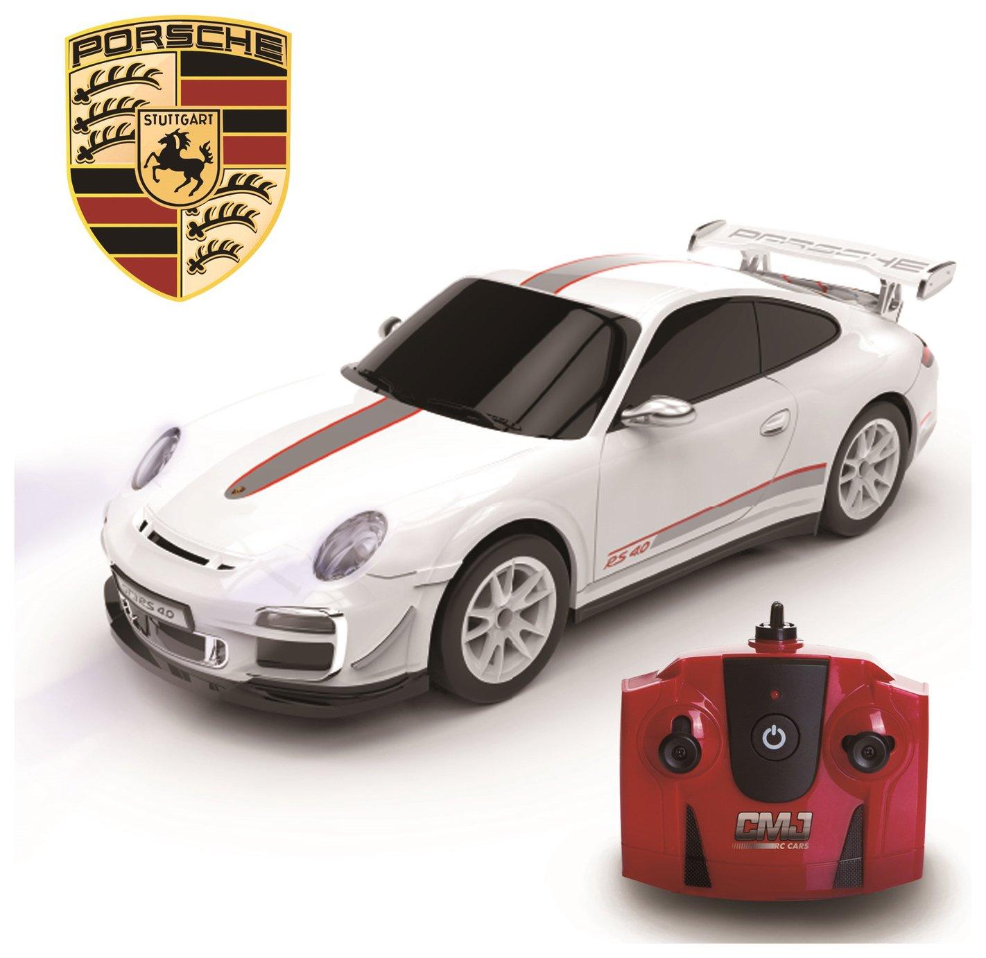 Porsche 911 Remote Control Car 1:24 White 2.4Ghz