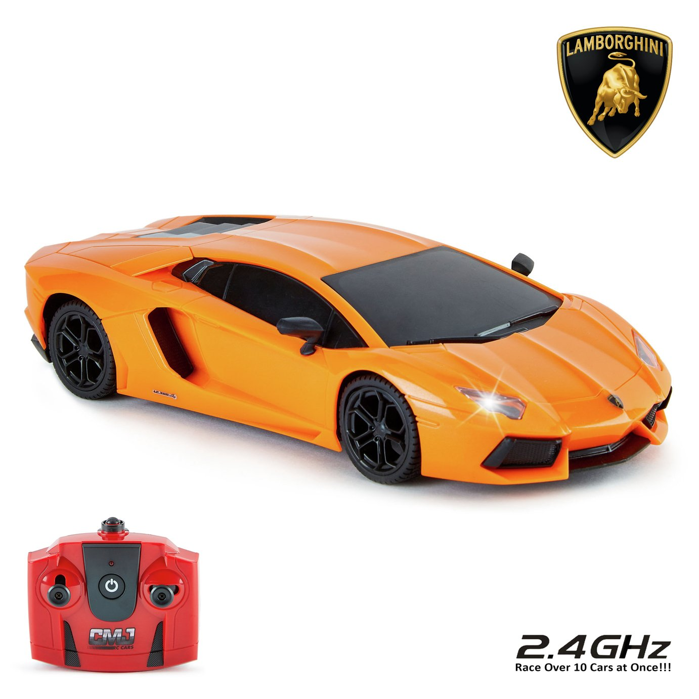 Lamborghini Aventador Remote Control Car 1:24 Orange 2.4Ghz