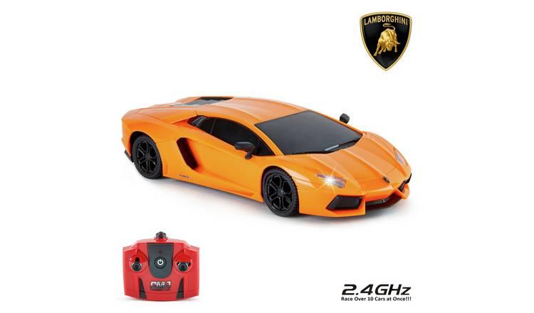Buy Lamborghini Aventador Remote Control Car 1 24 Orange 2 4ghz