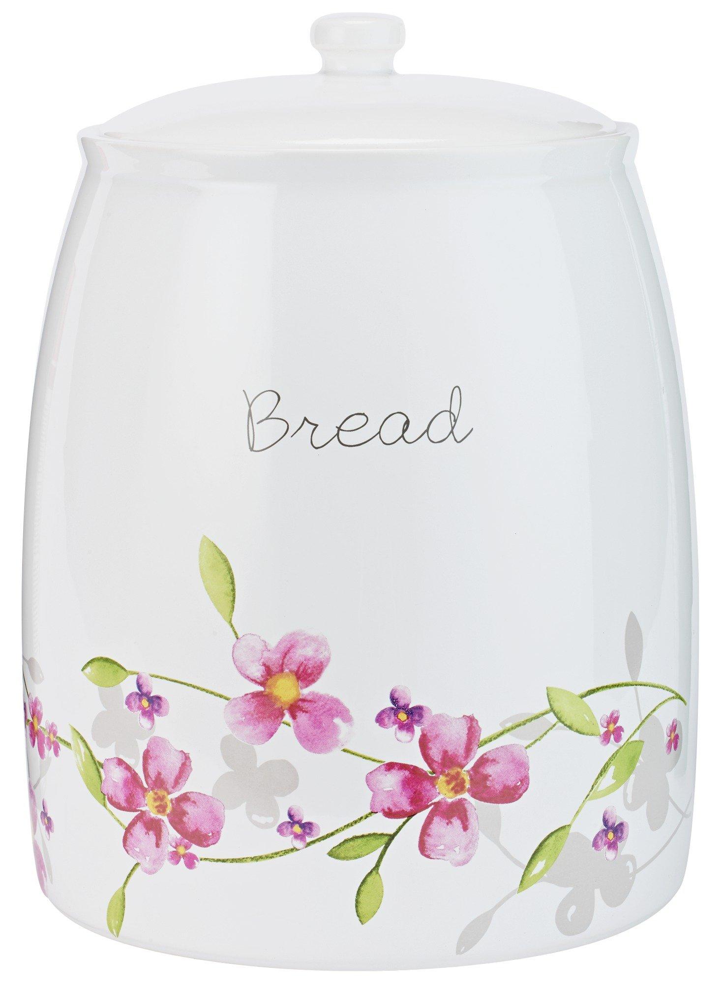 Argos Home Maya Floral Ceramic Bread Bin