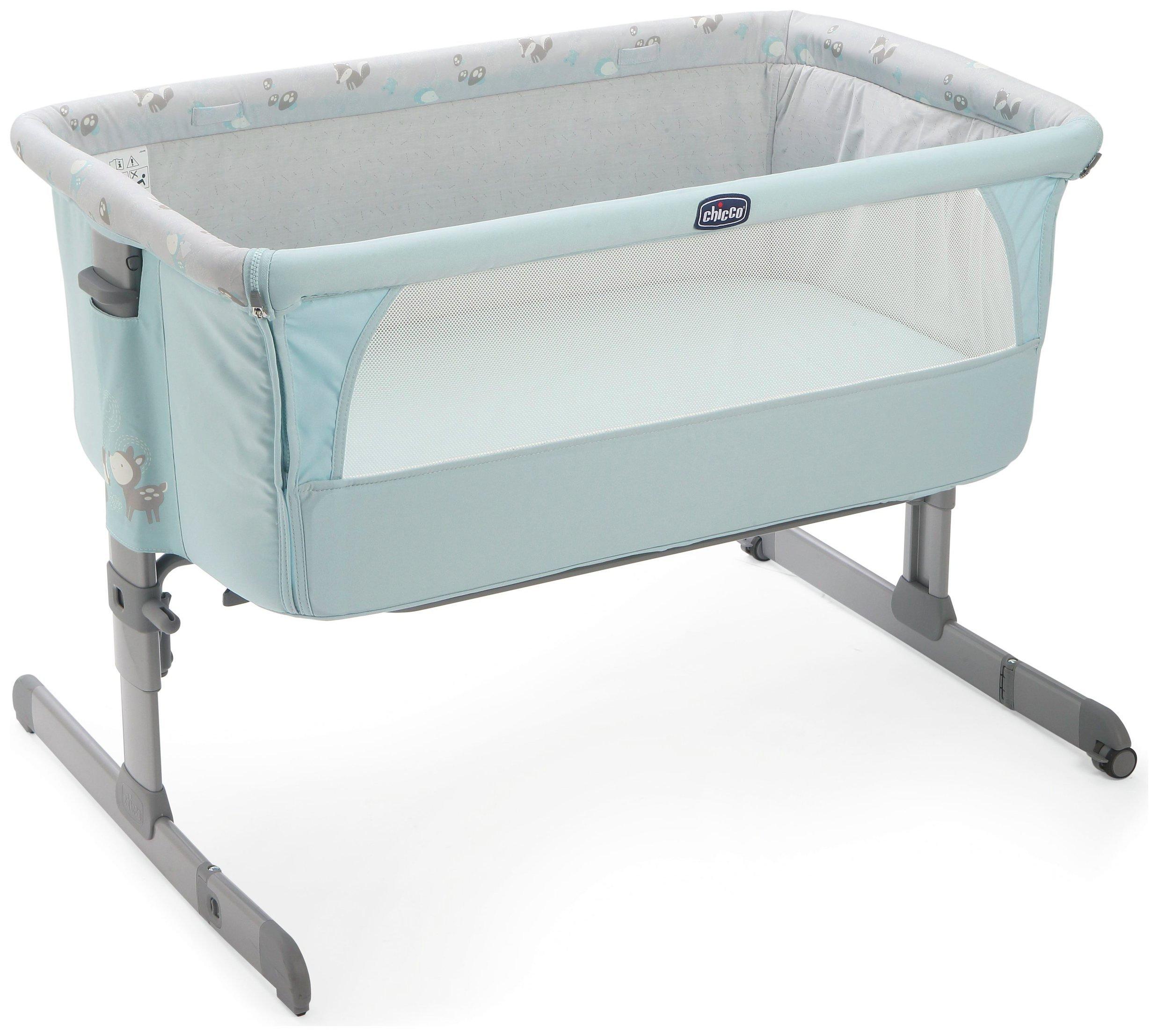 Image of Chicco Next 2 Me Crib - Sky