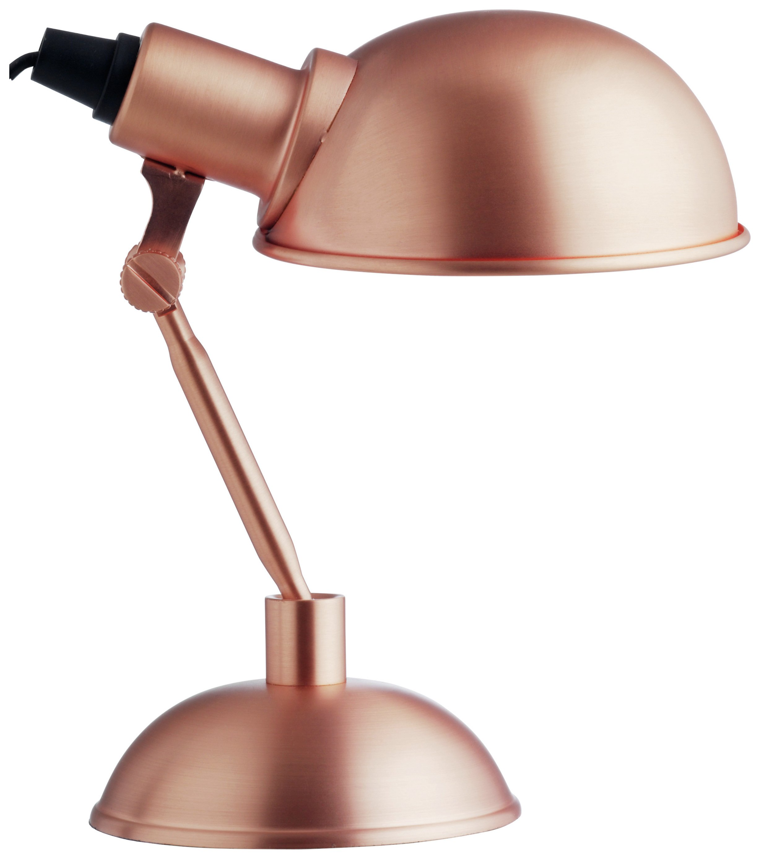 Habitat tommy desk lamp copper