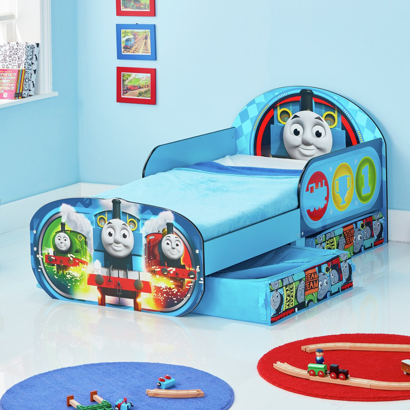 thomas toddler bed instructions
