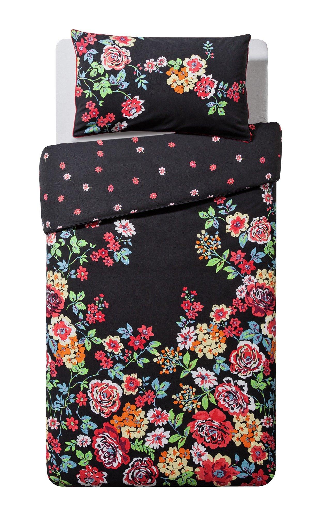 Argos Home Gypsy Floral Bedding Set - Single