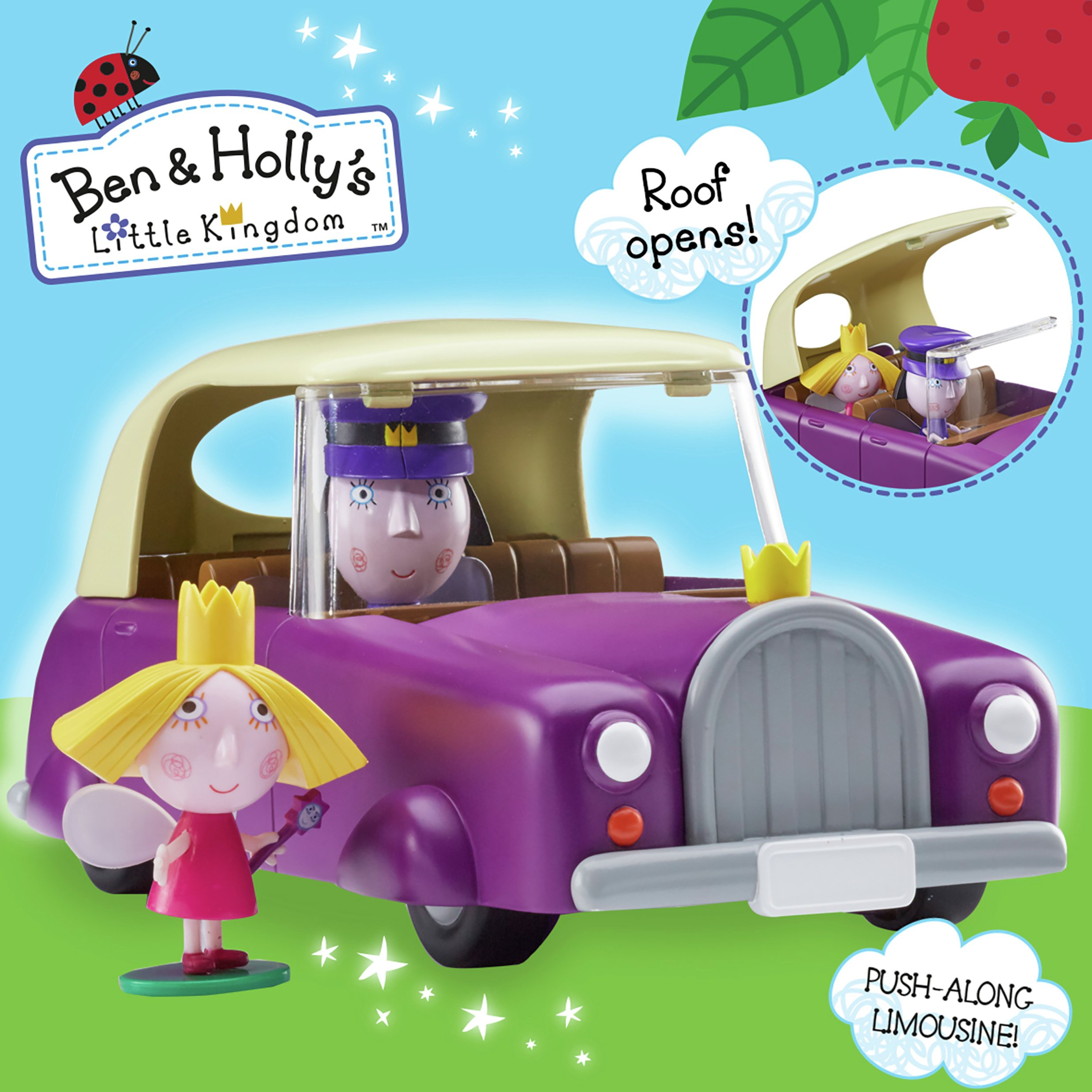 Image of Ben & Holly's Little Kingdom The Royal Limousine Playset