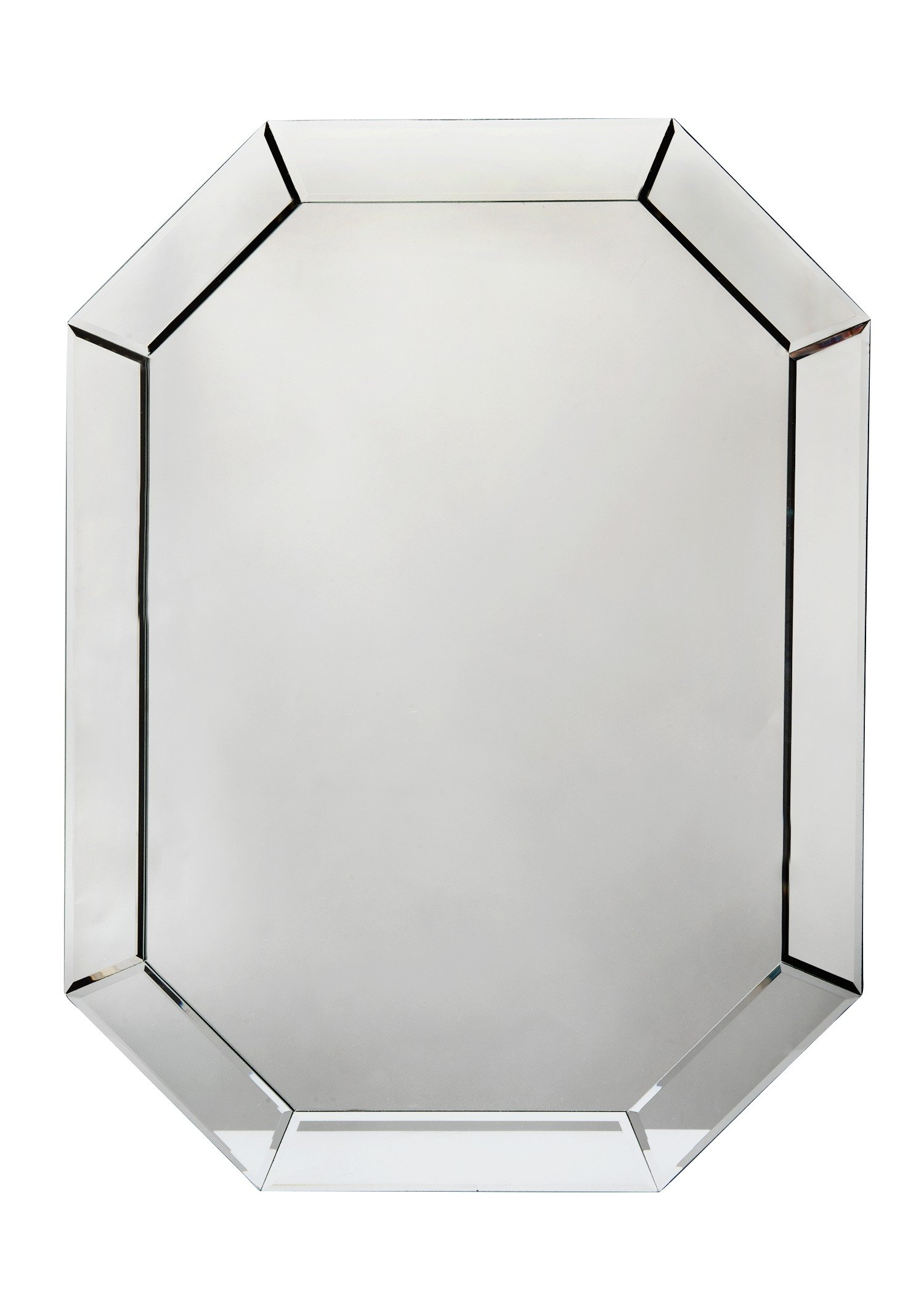 Argos Home Stonehaven Octagonal Bevelled Mirror - Clear