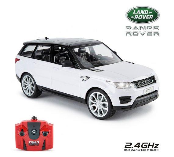 Buy Range Rover Sport 1 14 Remote Control Car White Radio