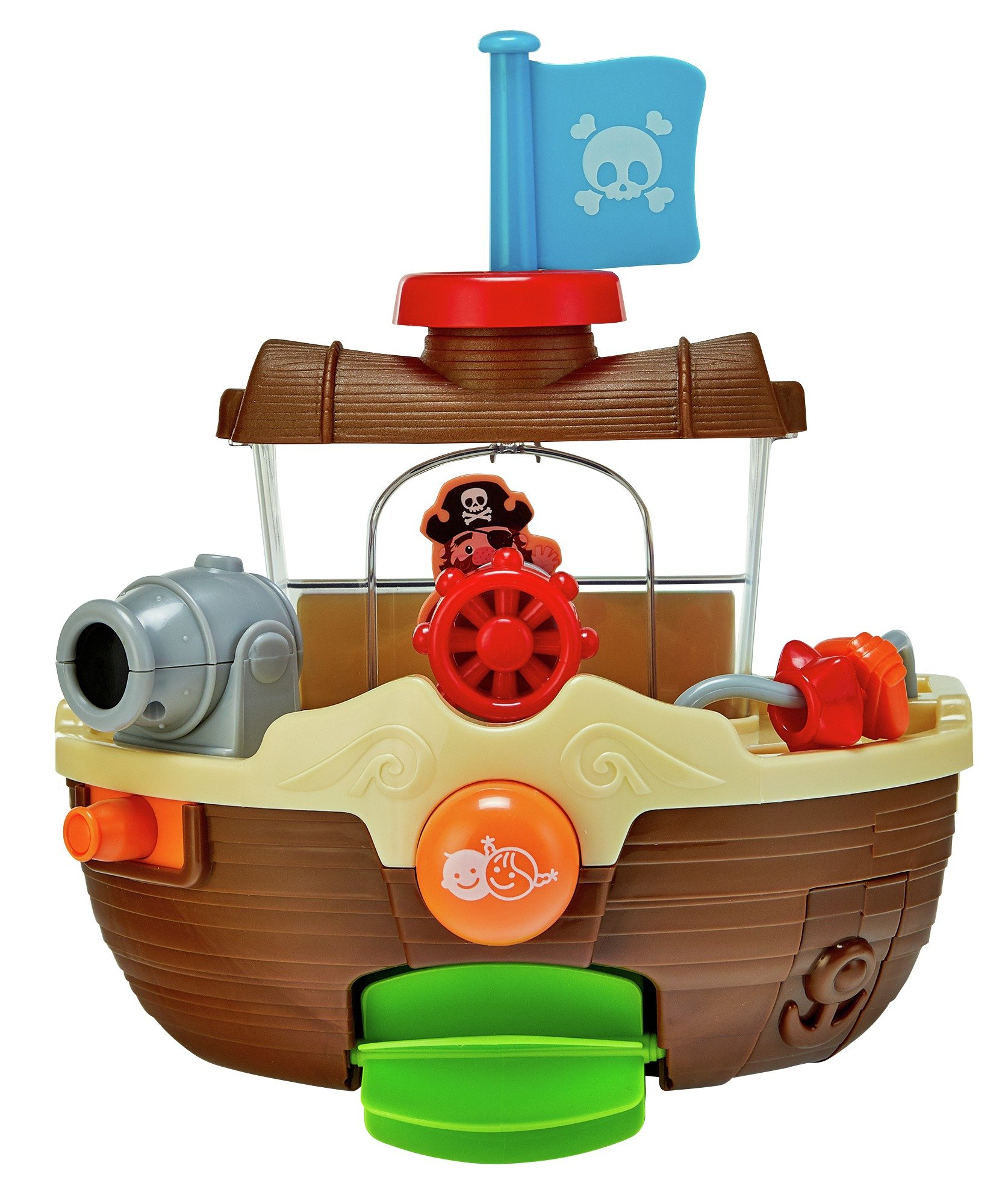 Chad Valley Pirate Ship Bath Toy.