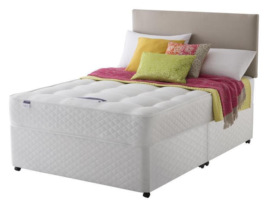 Silentnight McKenna Miracoil Divan Bed - Superking