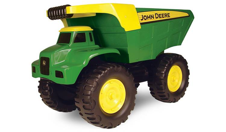 Big Dump Trucks >> Buy John Deere Big Scoop Dump Truck Toy Cars Vehicles And Sets Argos