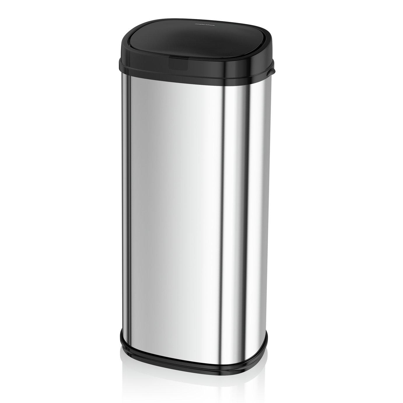 Morphy Richards 50 Litre Sensor Bin - Silver