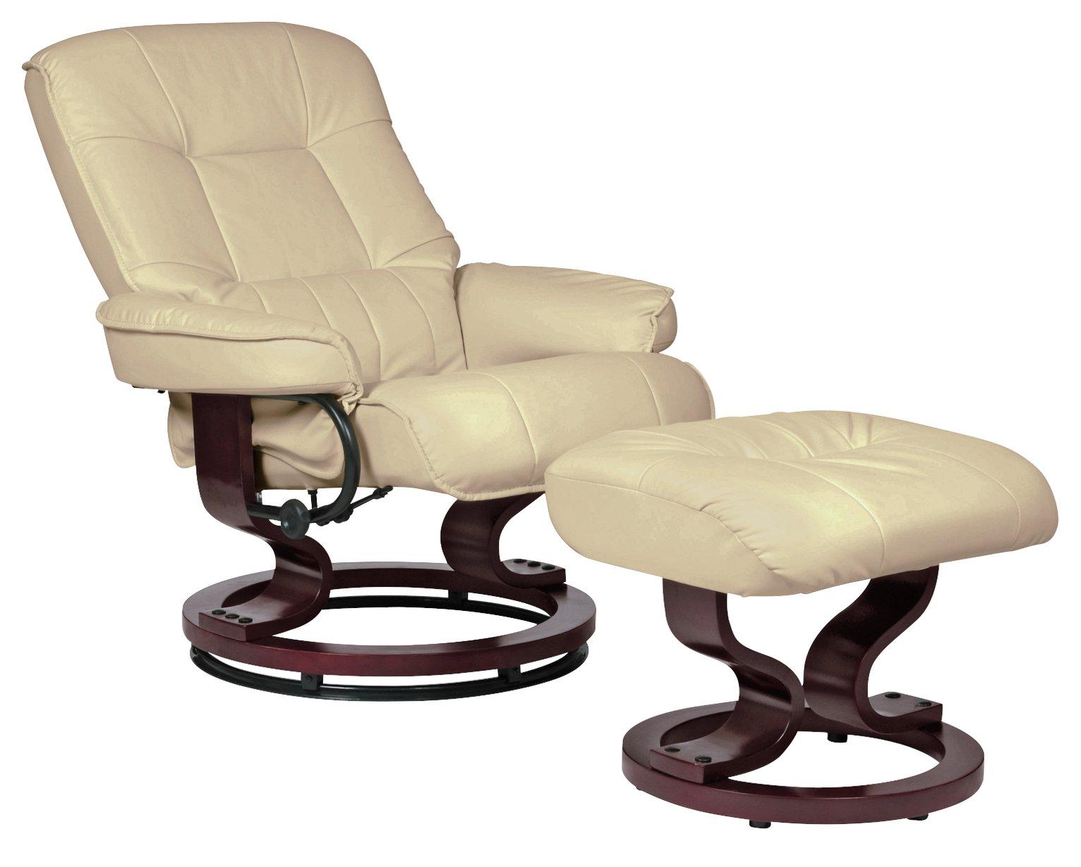 FoxHunter Bonded Leather Massage Cinema Riser Recliner Sofa Power