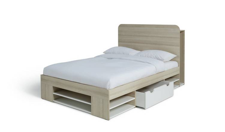 Habitat Pico Small Double Bed Frame - Two Tone
