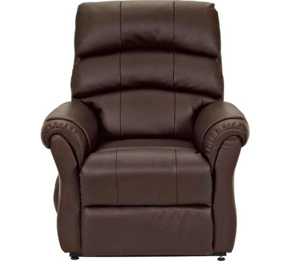 Buy Argos Home Warwick Leather Power Recliner Chair Dark Brown