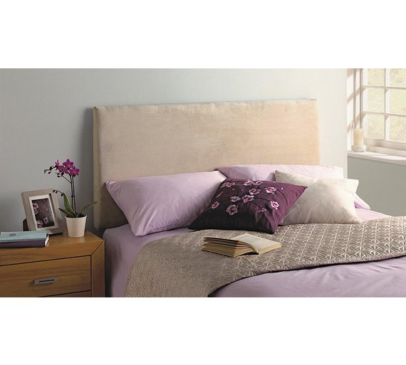 buy silentnight milan small double headboard natural at. Black Bedroom Furniture Sets. Home Design Ideas