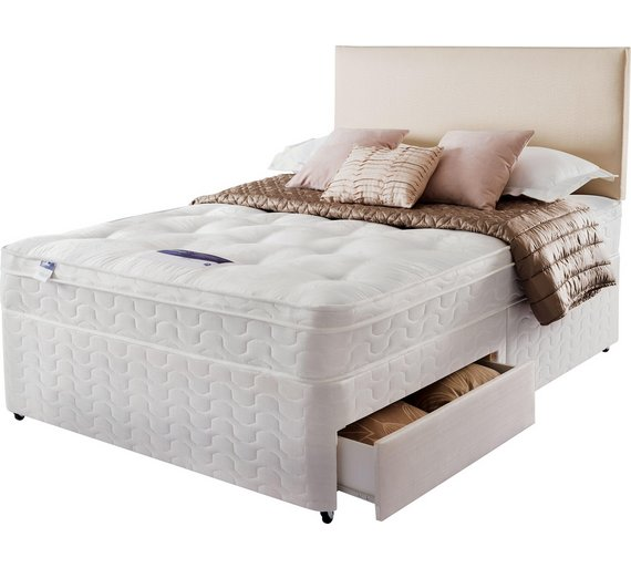 Buy silentnight auckland ortho small double divan bed 2 for Bedroom furniture auckland