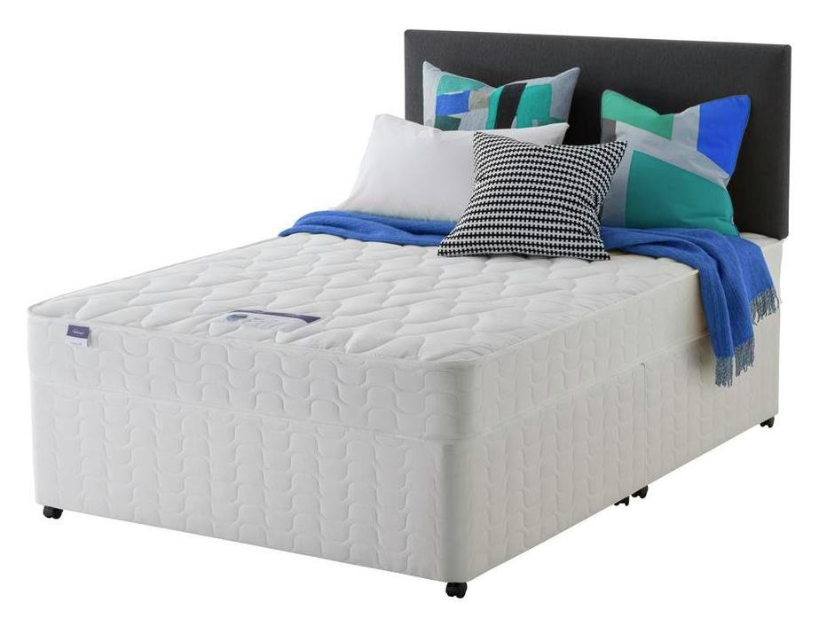 Image of Silentnight - Miracoil Travis - Double - Divan Bed