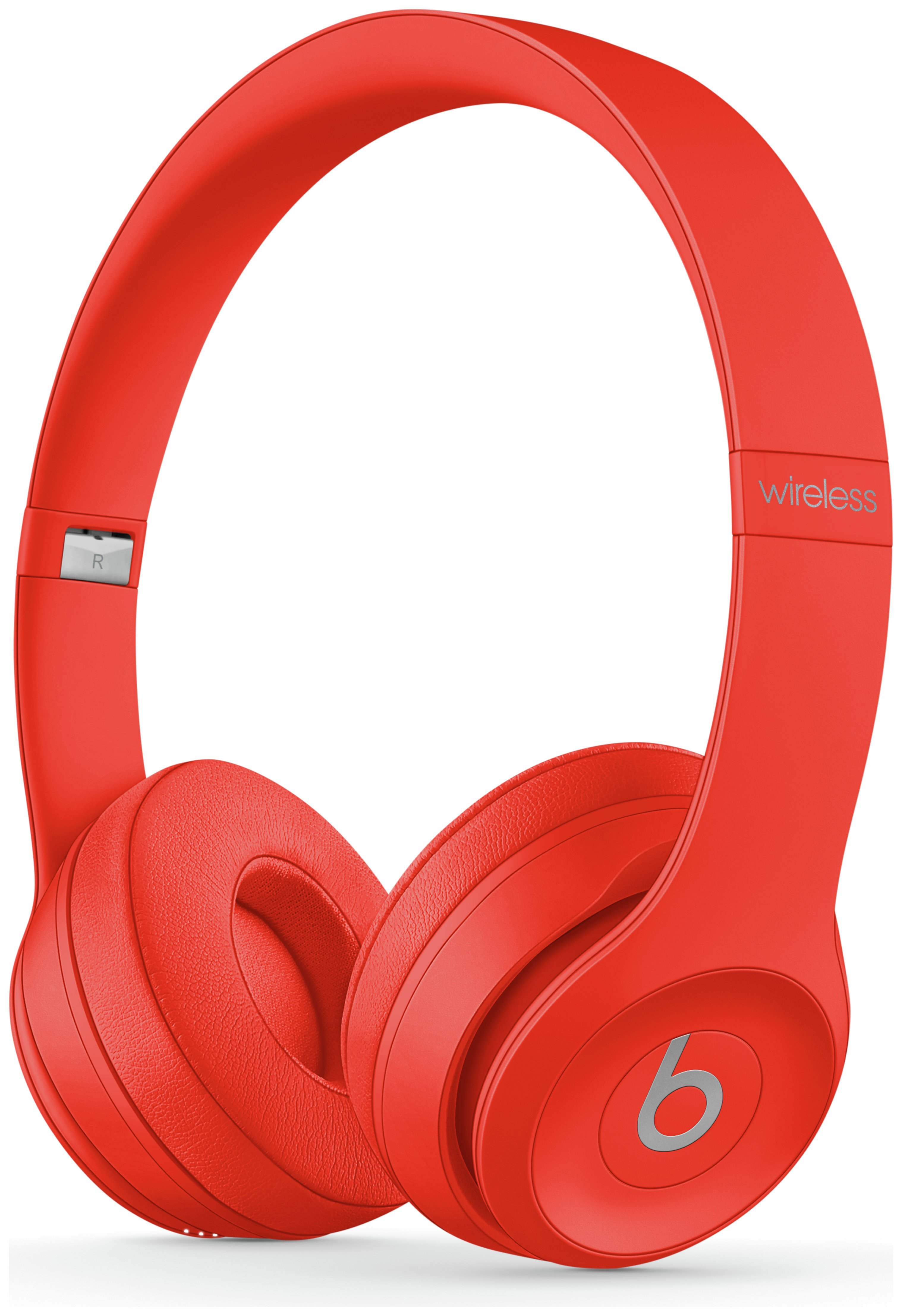 Image of Beats by Dre Solo 3 On - Ear Wireless Headphones - Red