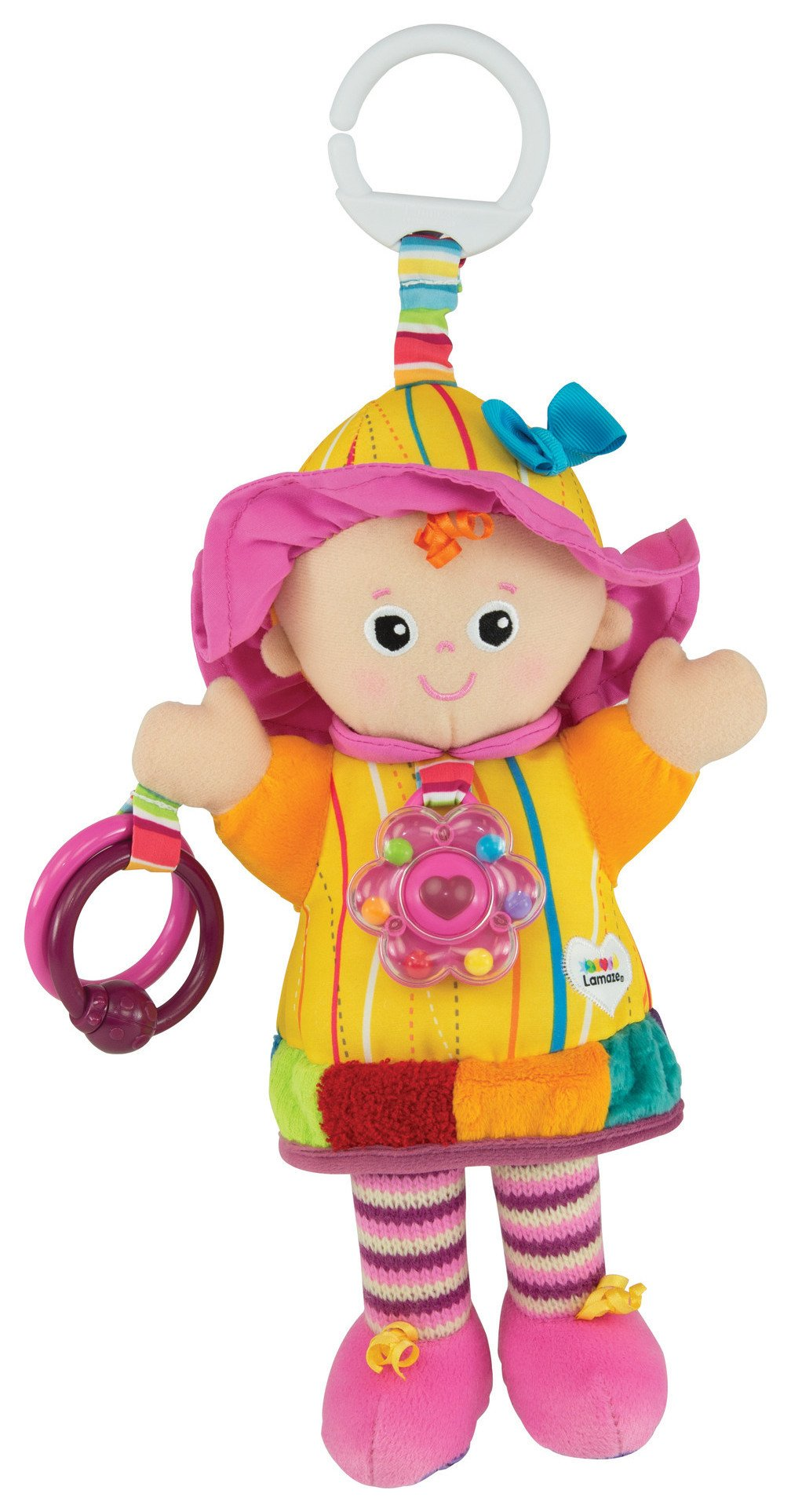 Image of Lamaze My Friend Emily On the Go Doll.