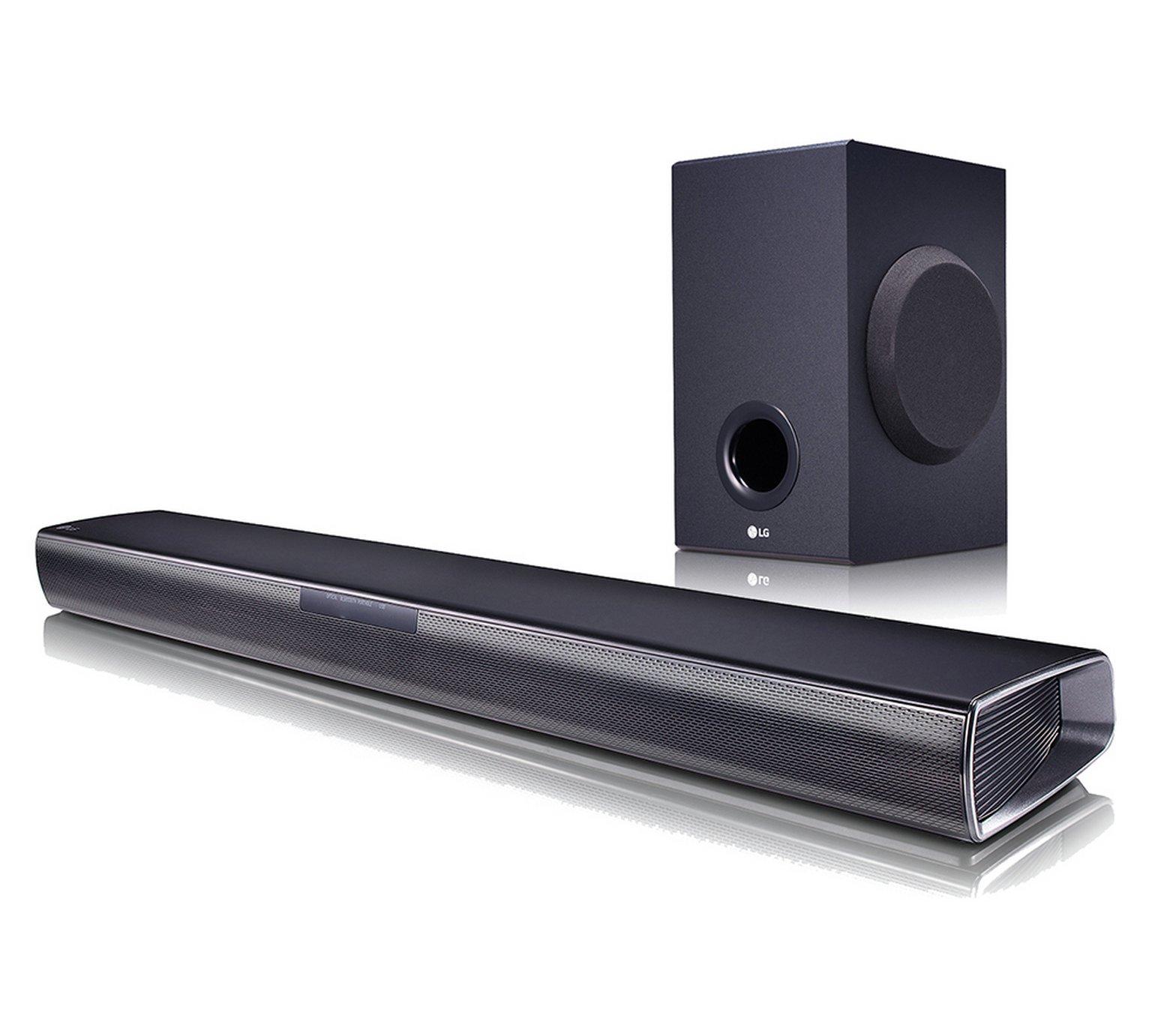 LG SJ2 160W 2.1Ch Bluetooth Sound Bar with Wireless Sub
