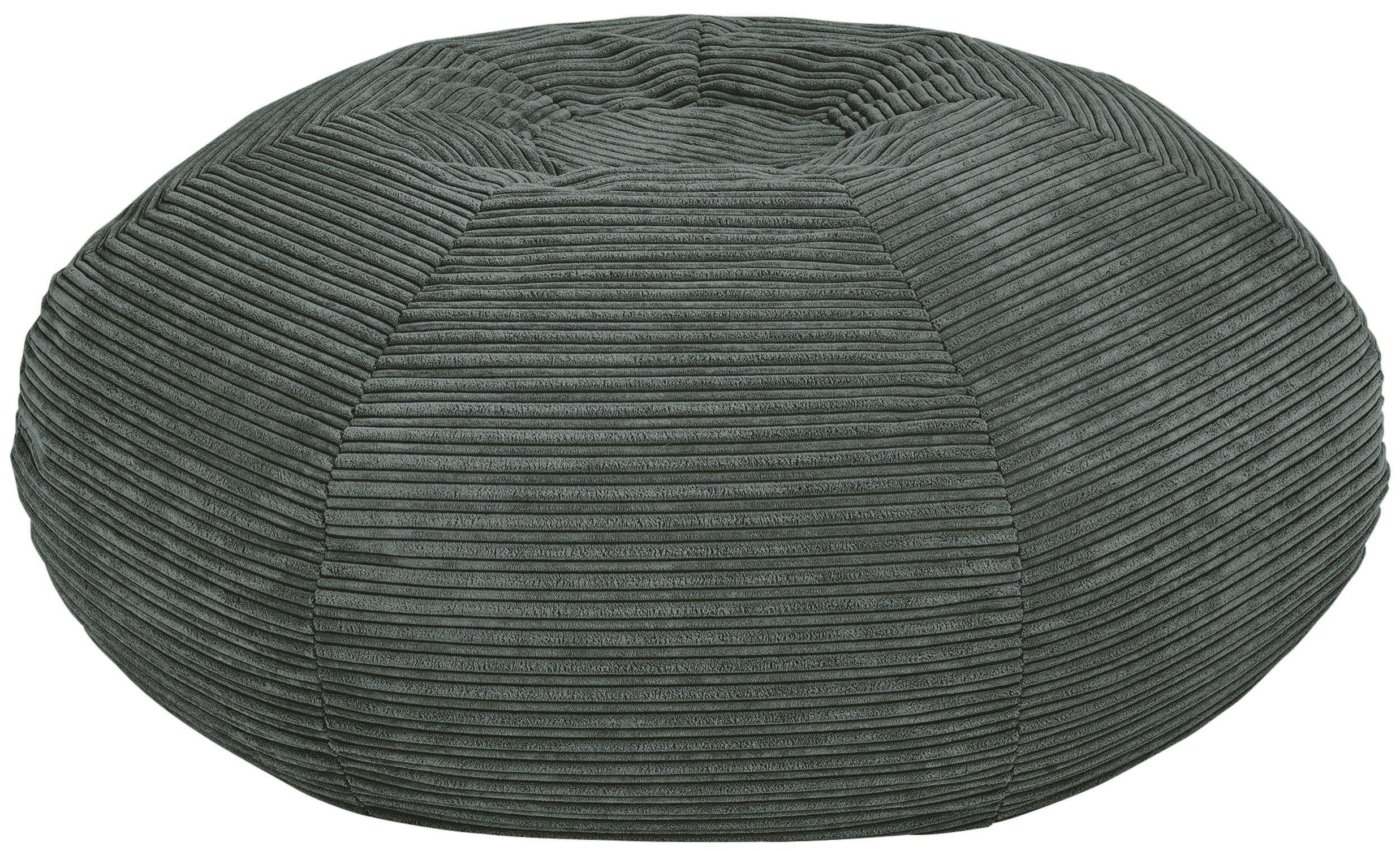 HOME Harley Extra Large Beanbag - Charcoal.