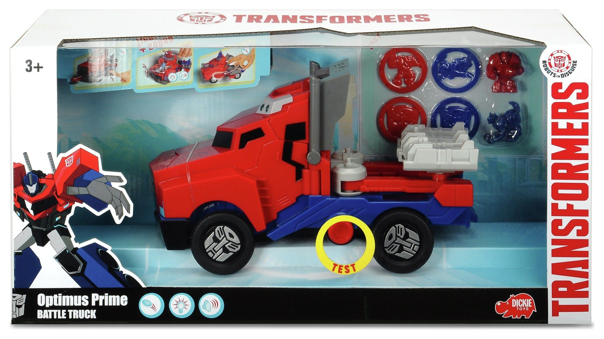Image of Dickie Opitmus Prime Battle Truck