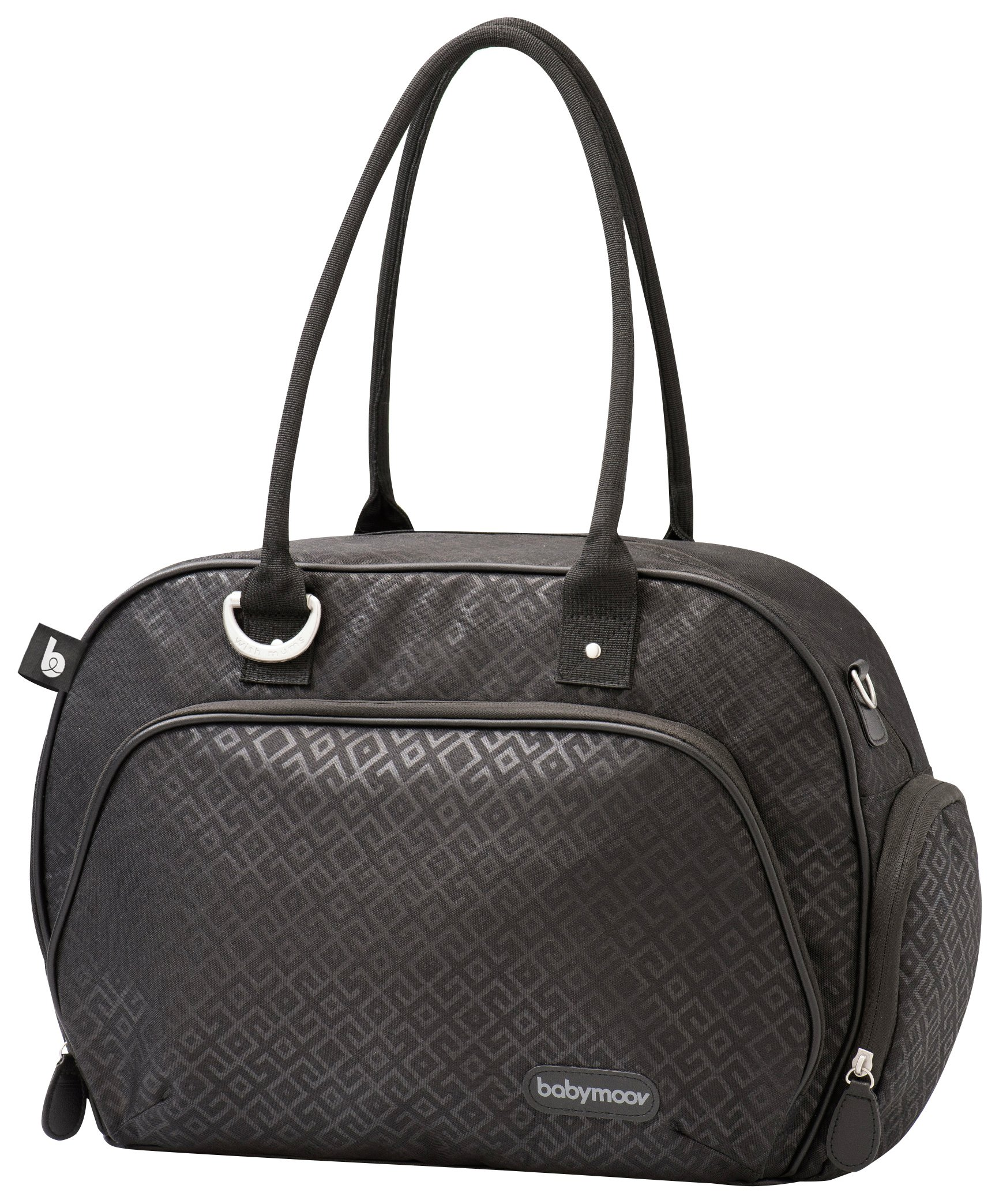 Image of Babymoov Black Trendy Bag.