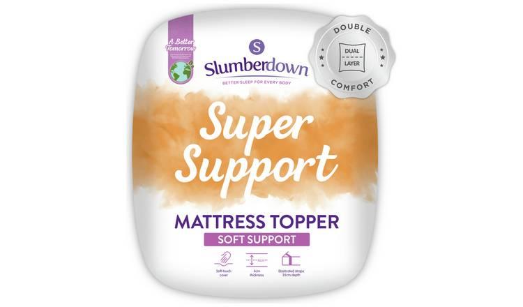 super popular d91ad 05ca6 Buy Slumberdown Support 5cm Mattress Topper - Single | Mattress toppers |  Argos