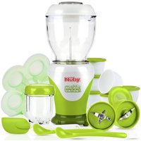 Nuby's Mighty Blender™ 22 Piece Starter Kit.
