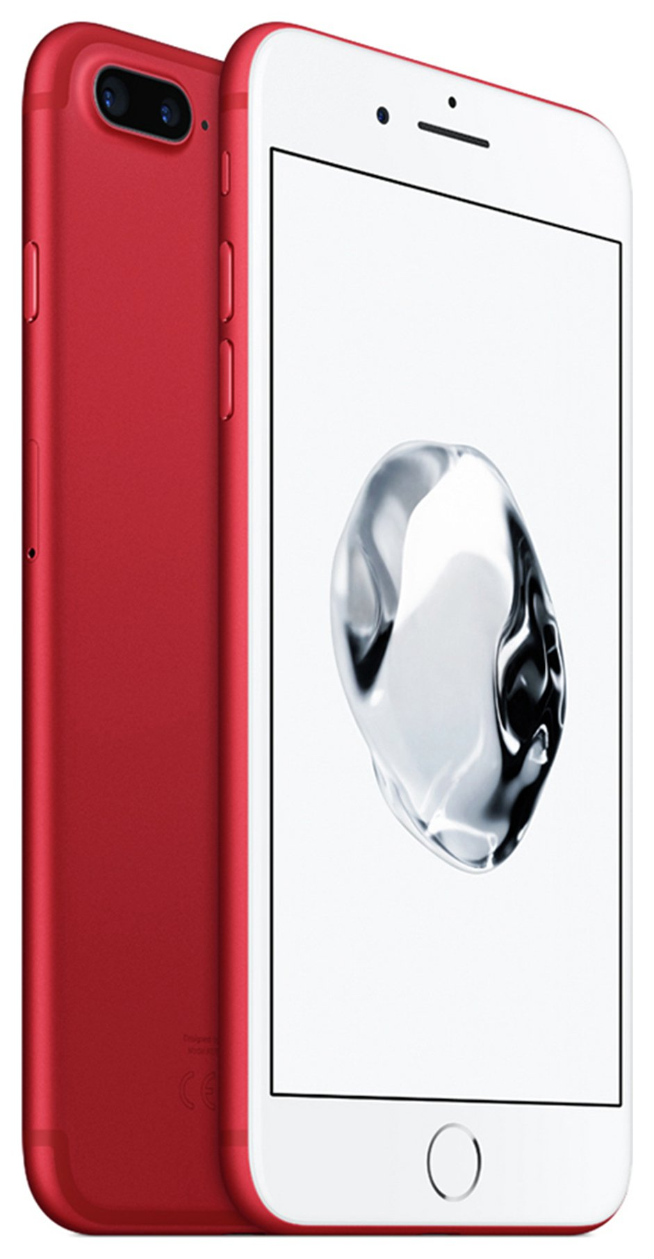 Apple Sim Free iPhone 7 Plus 128GB Mobile Phone - (PRODUCT)RED.