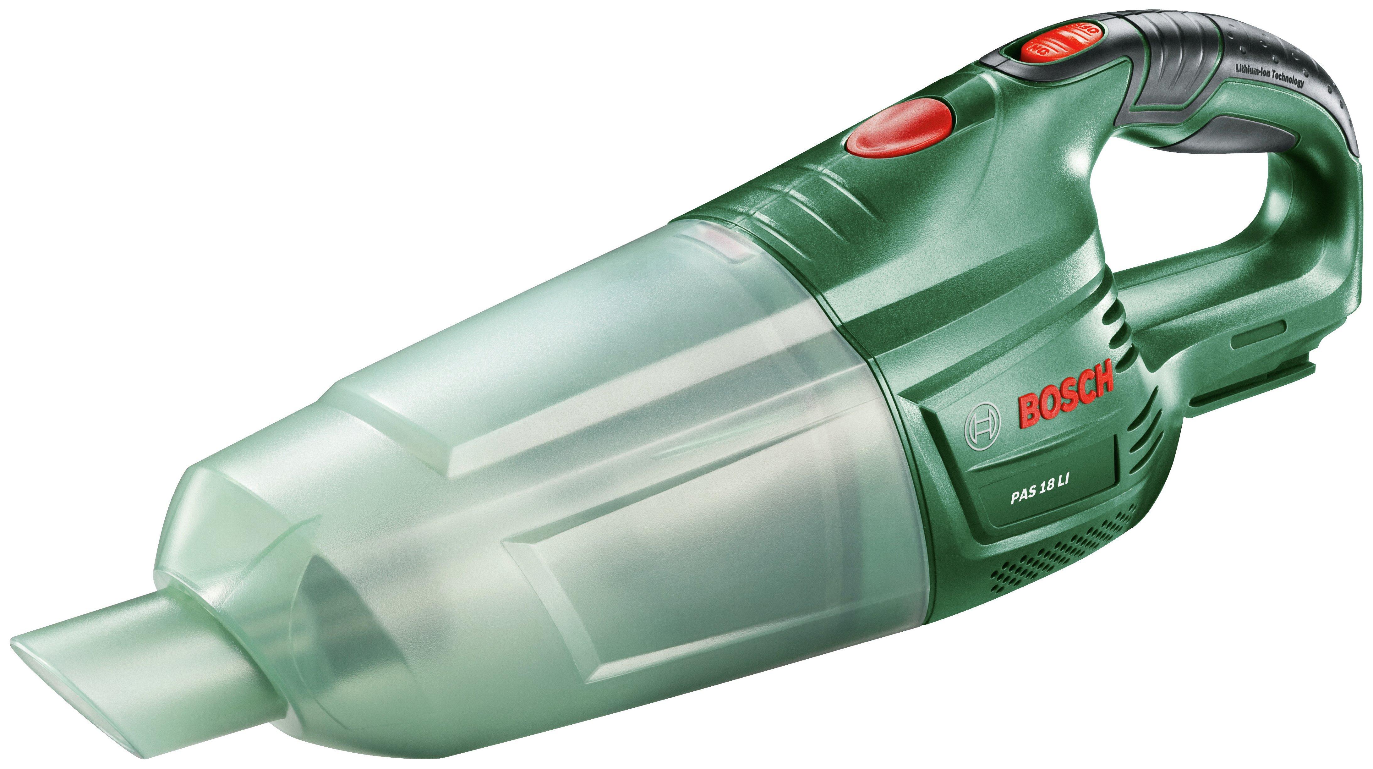 Bosch Bare Pas 18 Li Handheld Vacuum Cleaner - No Battery