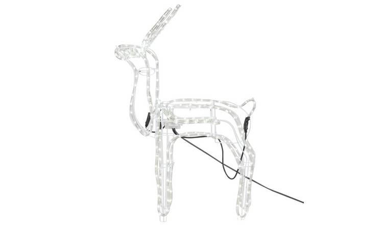 Buy Argos Home Led Animated Nodding Reindeer Bright White Christmas Lights Argos