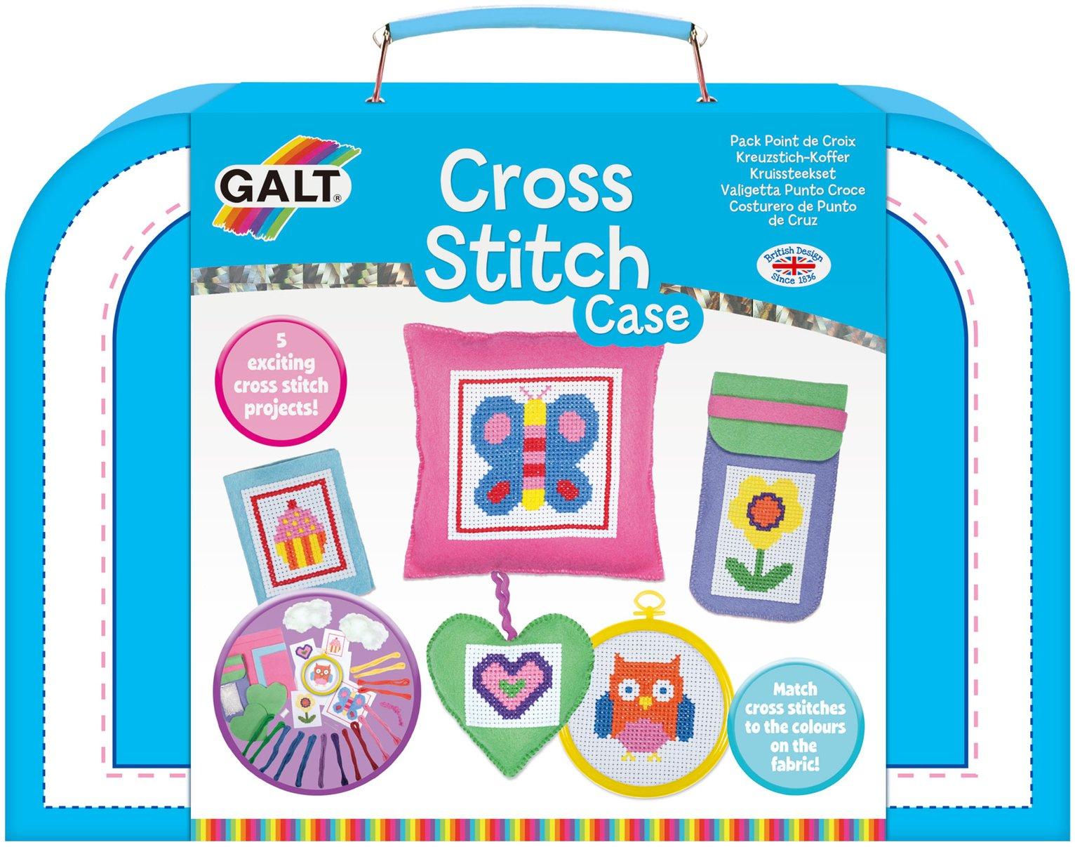 Image of Galt Toys Cross Stitch Case.