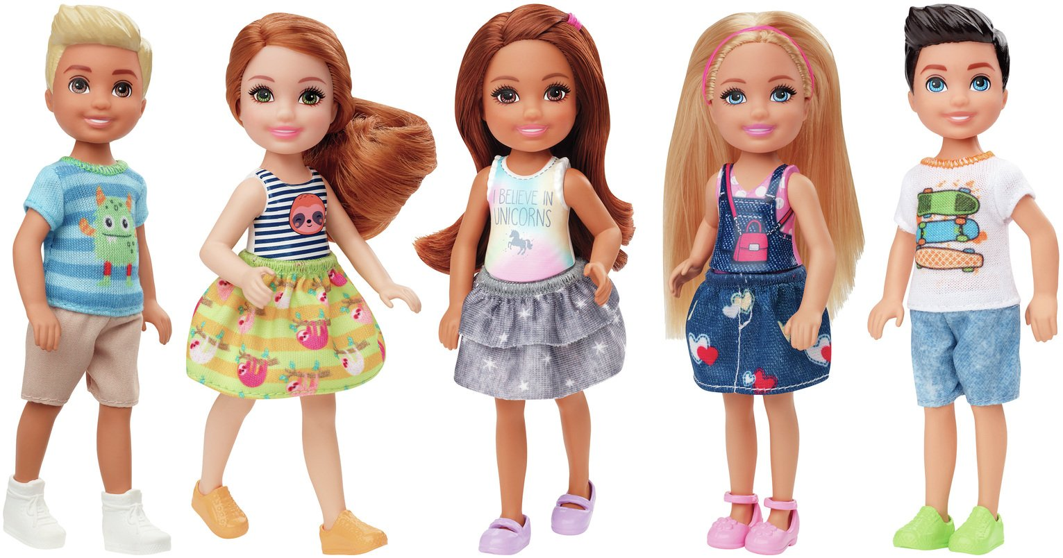 Barbie Club Chelsea 2 Pack Dolls & Accessories Assortment