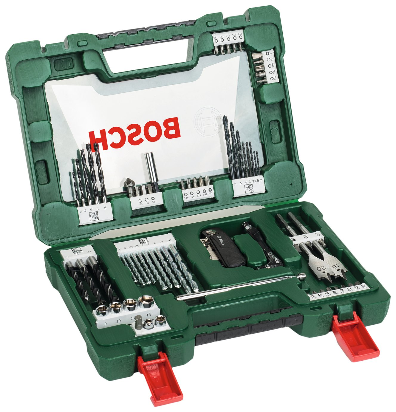 Image of Bosch 68 Piece V-Line Drill & Screwdriver Bit Set