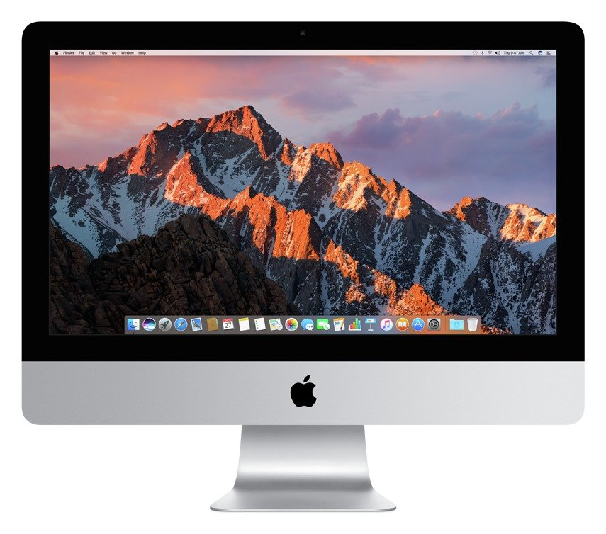 apple Apple iMac 2017 MMQA2 21 Inch i5 8GB 1TB Desktop