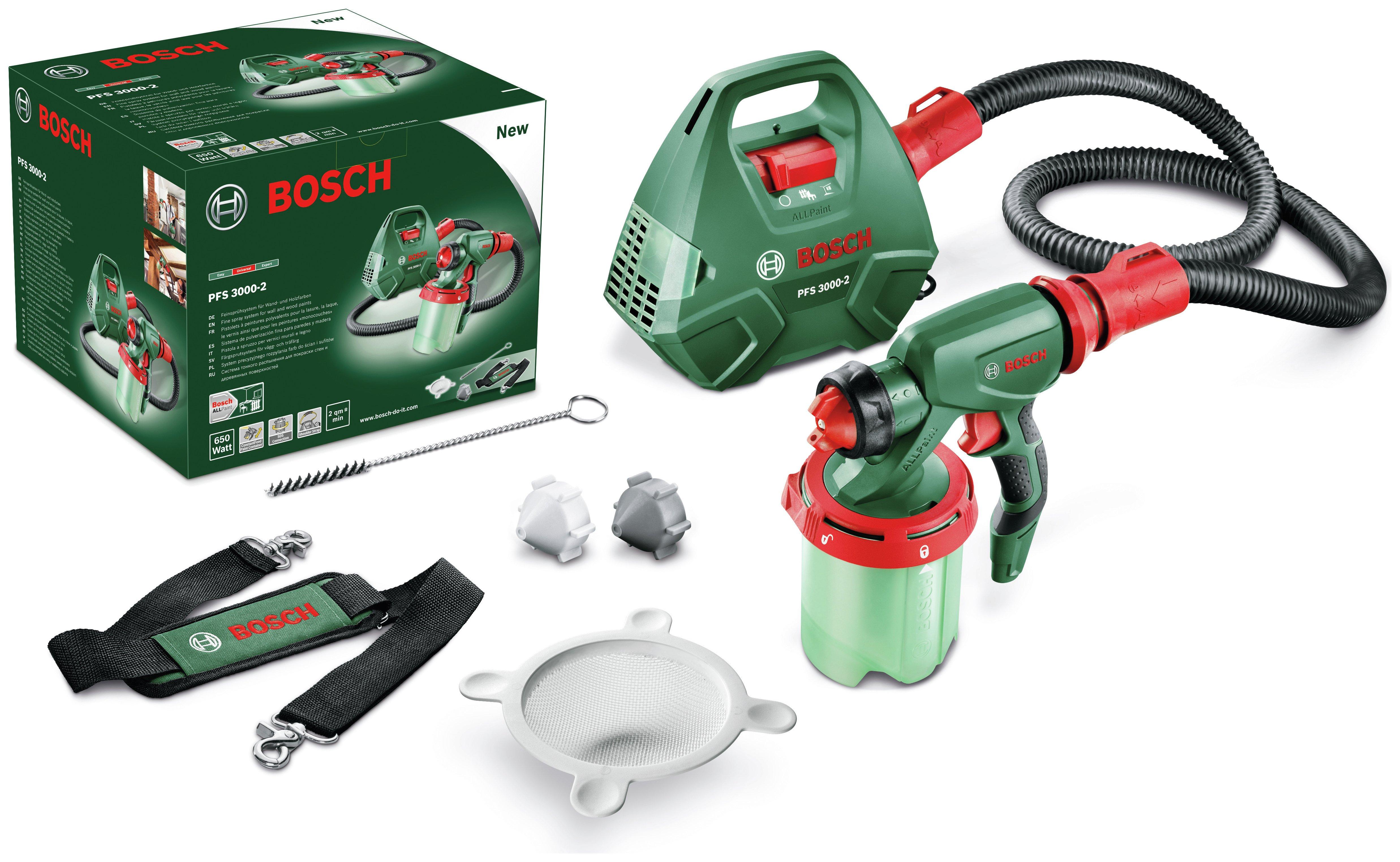 Bosch Pfs 30002 All Paint Spray System Sprays Paint Supplies
