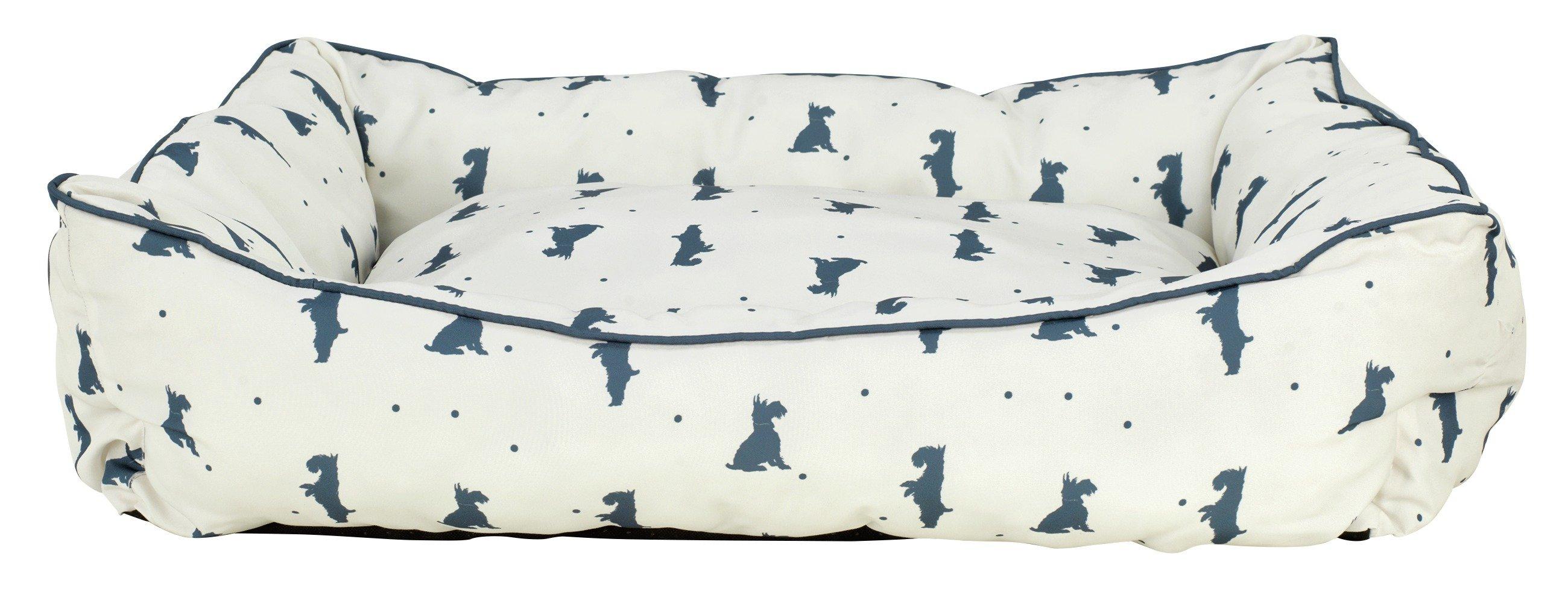 Image of Alfie Square Extra Large Cream Pet Bed