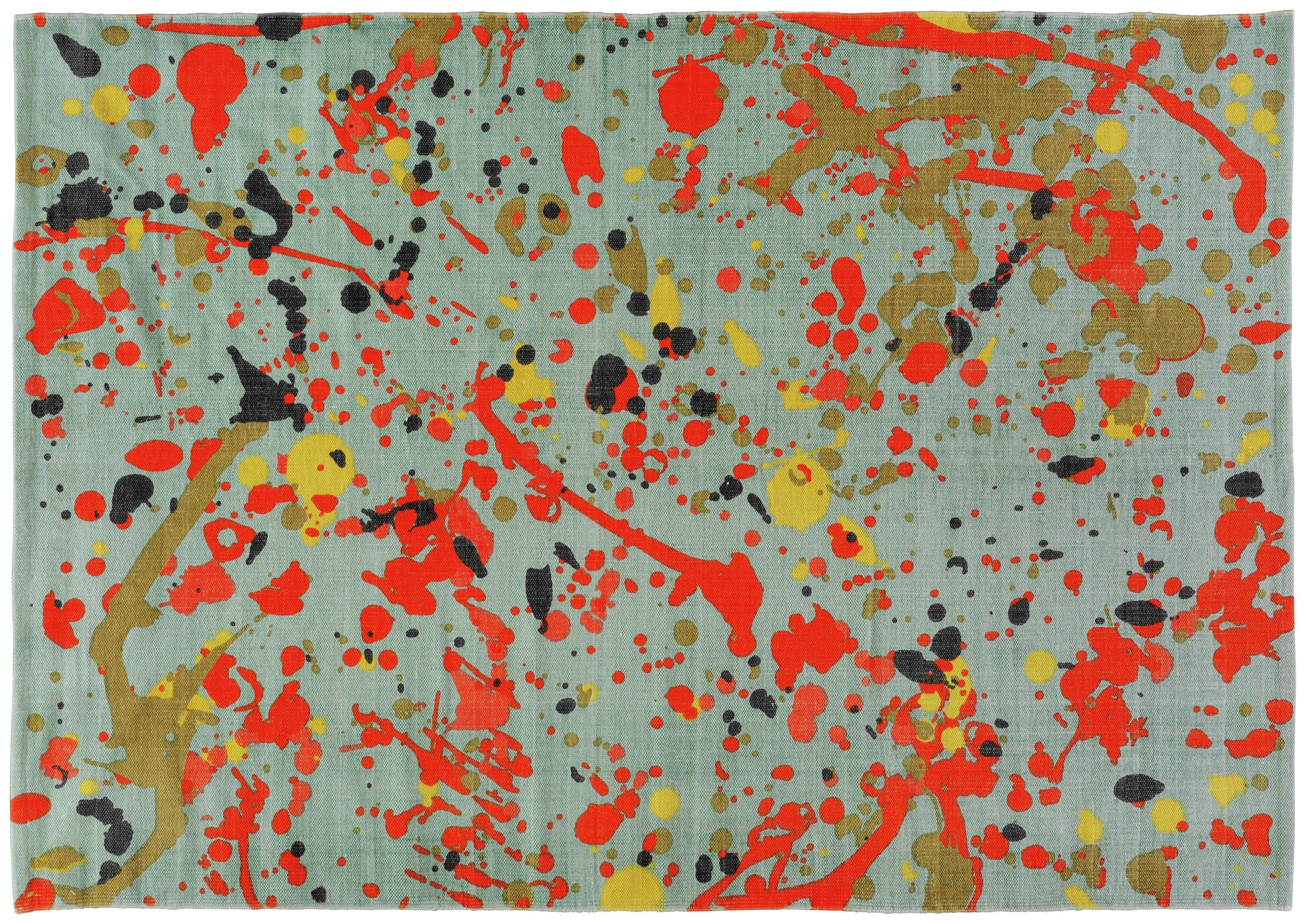 Habitat Splatter Rug 200x140cm Multicoloured 6982043 Argos Price Tracker Pricehistory Co Uk