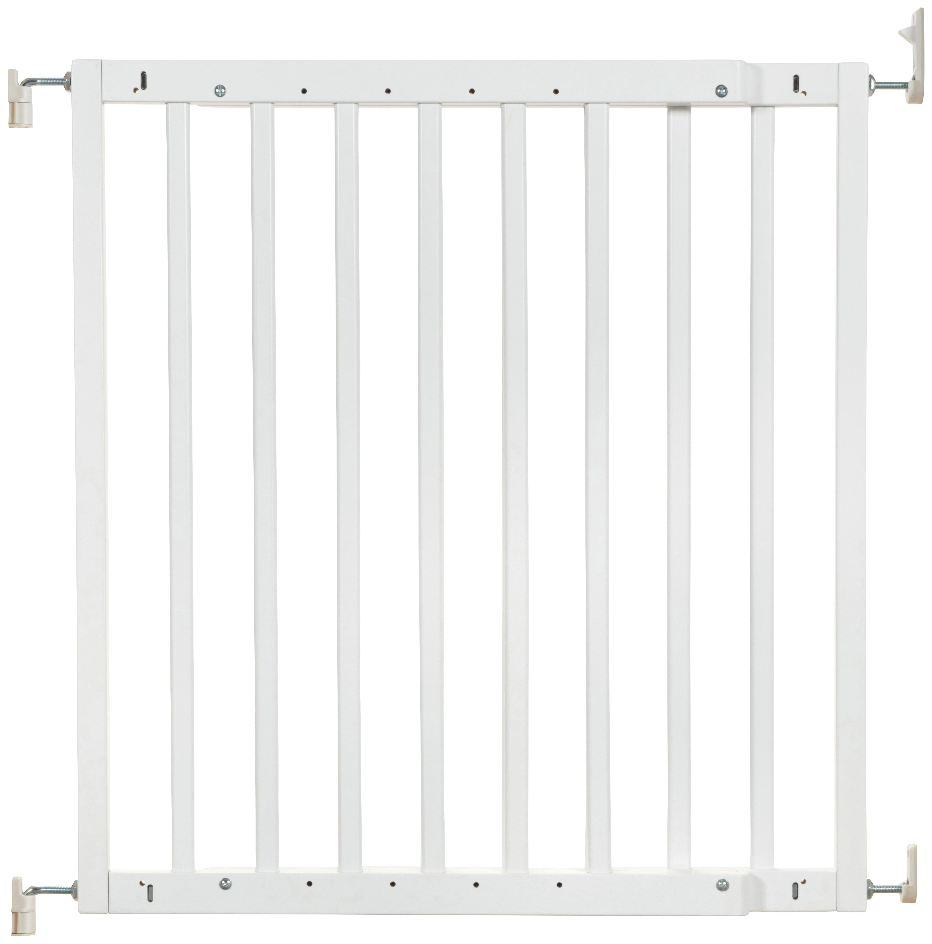 Badabulle Colour Pop Safety Gate - White.
